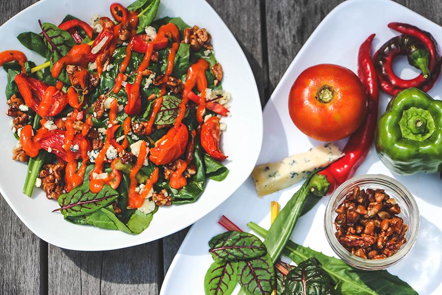 Campus Grown Salad